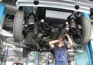 Процесс проверки состояния авто