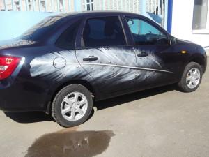 Рисунки на авто