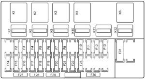 Схематическое изображение монтажного блока