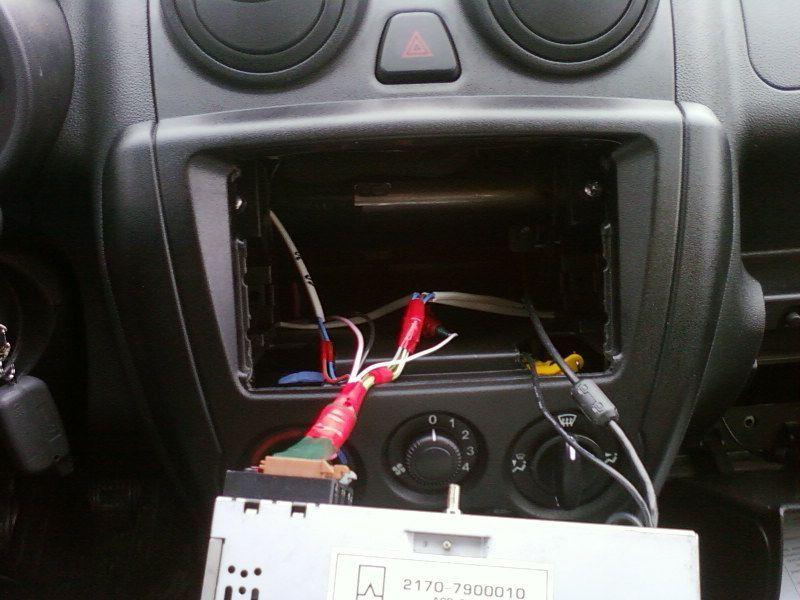 Установка аудиосистемы