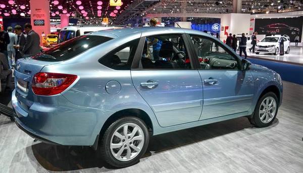 LADA Granta в ТОП-3 популярных авто